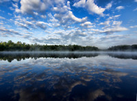 Morning Reflections, Perch Lake, RS Lyle Scout Reservation 2012