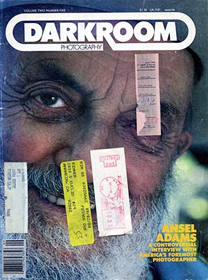Ansel Adams Darkroom Mag Interview